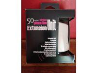 Wireless RTK phoneline extension unit