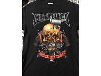 Metallica 2004 metclub t-shirt - very rare