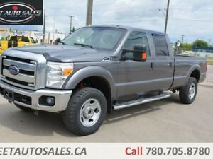 2013 Ford F-350 XLT 4x4 SD Crew Cab 8 ft. box 172 in. WB SRW