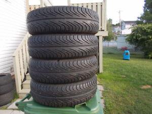 p185/70/14 inch All Season Tires / GOOD TREAD / GOOD DEAL