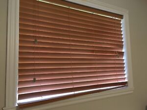 Faux Wood Blind FOR SALE
