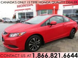 2013 Honda Civic EX COUPE | NO ACCIDENTS | 1 OWNER