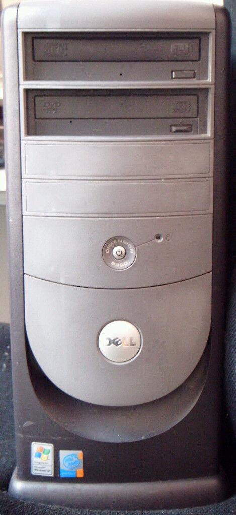 Used Dell Dimension 8300 Mini Tower PC (in good condition)