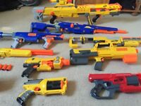 Assortment of Nerf Guns for sale