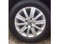 VW ALLOYS AND TYRES ***BARGAIN*