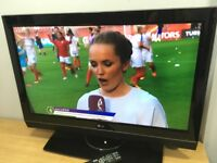 """LG 37"""" LCD TV Freeview"""