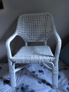 Antique Child's Rattan Chair