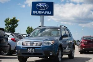 2010 Subaru Forester 2.5X Touring at Sunroof,H.Seats,Roof Racks,