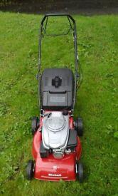 Einhell self propelled petrol lawn mower as new