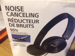 SONY Headphones MDR-ZX110NC Noise canceling