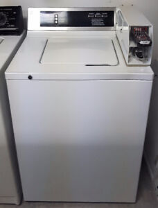 GE Commercial Coin Operated Washing Machine