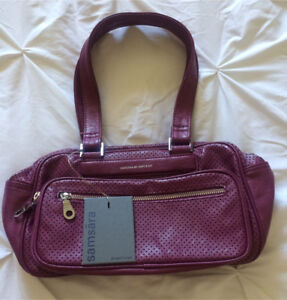 NWT Cranberry  Matt & Nat Purse
