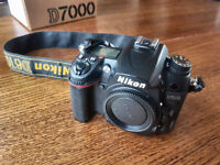 Nikon D7000 SLR digital camera body excellent condition (not Canon, Sony)