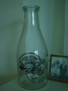 Prince Edward Dairies Quart Milk Bottle
