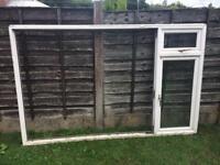 Triple glazed upvc window