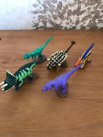 Dinosaur king figures - various x 5 in a pack