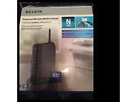 Belkin Wireless N 150Mbps Modem Router