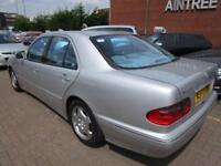2000 MERCEDES-BENZ E CLASS 3.2 E320 CDI AVANTGARDE 4D AUTO 194 BHP DIESEL