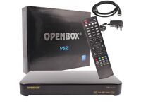 OpenBox V5s HD 1080p PVR TV Satellite Receiver FreeSat Sky-Box - Remote, Boxed
