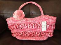 BNWT pink summer bag - unwanted gift