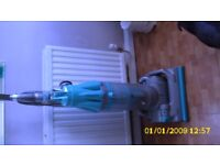 Dyson D7 turquoise & clear
