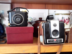 PAIR OF VINTAGE CAMERA ON CHOICE $22.00  EACH  DROP IN