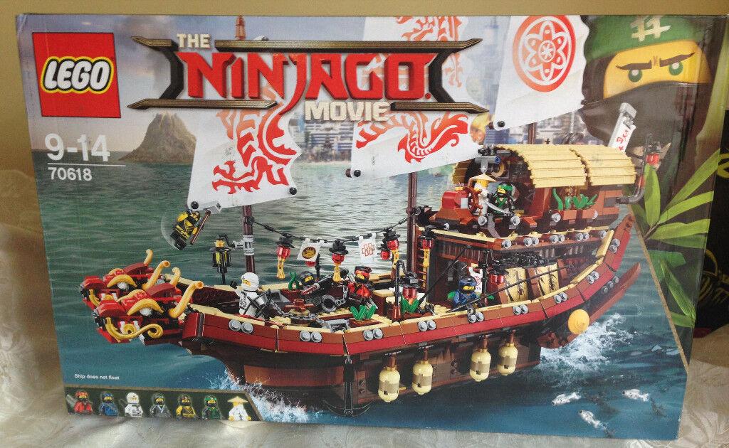 Lego Ninjago Movie Destiny S Bounty Set Bnib In Dagenham