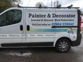 Painter and decorators