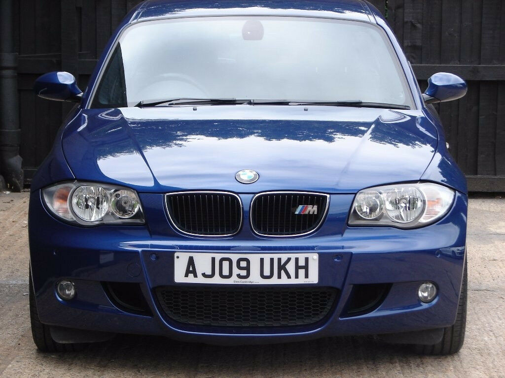 2009 for sale bmw 1 series 2 0 118d m sport 5dr in charlbury oxfordshire gumtree. Black Bedroom Furniture Sets. Home Design Ideas