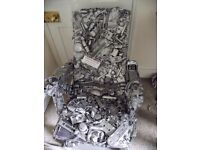 Unique 'Wreck Chair' - a real Piece of Art!