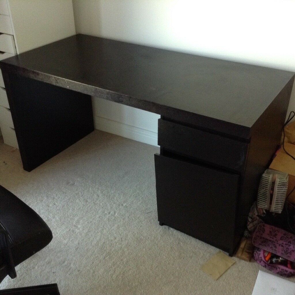dark wood desk  in brighton east sussex  gumtree - dark wood desk