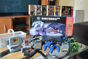 N64 accessories and games