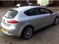 2008 SEAT LEON 1.9 TDI STYLANCE 1 OWNER FROM NEW 2 KEYS SERVICE HISTORY
