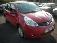 NISSAN NOTE 1.5 ACENTA DCI 5d 86 BHP (red) 2010