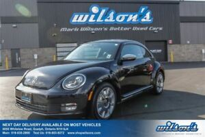 2013 Volkswagen Beetle FENDER EDITION LEATHER! SUNROOF! HEATED S