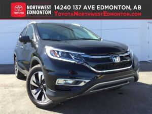 2015 Honda CR-V Touring | Nav | AWD | Pwr Heat Leather Seat | Su