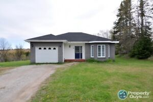 Sitting on 1 acre, 3 bed/2 bath, 1 level home