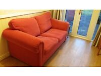 Two seater / double sofa bed
