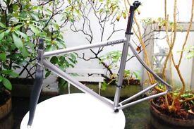 2012 Sabbath Silk Road Titanium Racing Bike Frameset M Medium 54cm Very Good Condition