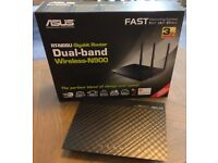 ASUS RT-N66U 802.11a/b/g/n Dual Band 450Mbps Multimedia Ultra Slim Gigabit Wireless Router