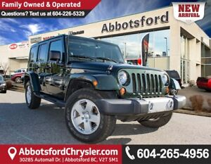 2011 Jeep Wrangler Unlimited Sahara ACCIDENT FREE!