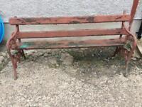Antique summer seat