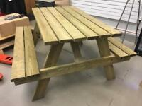 Heavy duty pub picnic bench