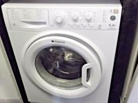 HOTPOINT 6KG A+ USED WASHING MACHINE+FREE BH ONLY POSTCODES DELIV,INSTALL & GUARANTEE