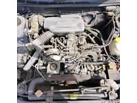 Subaru impreza classic non turbo engine 3 in stock bug eye