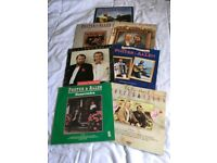 7 x Foster and Allen Vinyl Record Albums