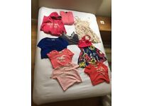 Mix of Abercrombie & Fitch, Hollister, Ralph Lauren, Topshop and Superdry girls clothes - Size small