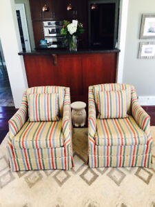 2 Comfortable Occasional Chairs $500 for both