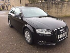 AUDI A3 - BLACK - 1.6 - 12 MONTHS MOT - RECENTLY SERVICED