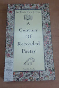 In Their Own Voices : A Century of Recorded Poetry (1998, CD)